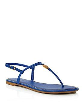 Tory Burch - Women's Emmy T-Strap Flat Sandals
