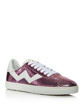 Stuart Weitzman - Women's Daryl Lace Up Sneakers