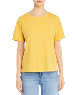 Eileen Fisher Petites - Organic Cotton Crewneck Tee