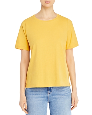 Eileen Fisher Petites Organic Cotton Crewneck Tee