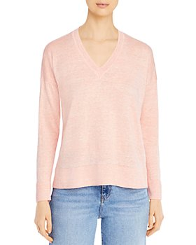 Eileen Fisher - Organic Linen V-Neck Sweater
