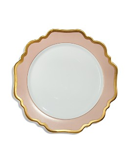 Anna Weatherley - Anna's Palette Dusty Rose Dinner Plate