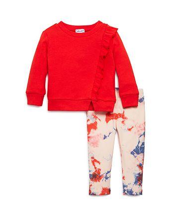 Splendid - Girls' Ruffled Top & Tie-Dyed Leggings - Baby