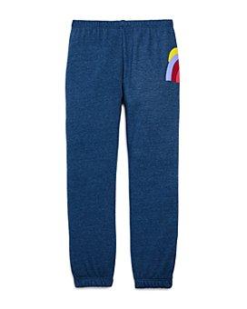 Spiritual Gangster - Girls' Shine Rainbow Sweatpants - Big Kid