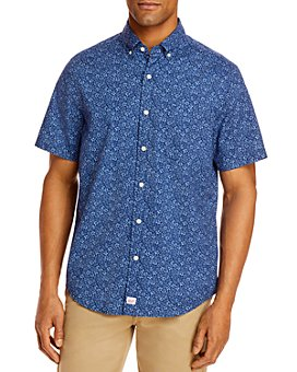 Vineyard Vines - Waterway Classic Fit Floral Print Short-Sleeve Button-Down Shirt