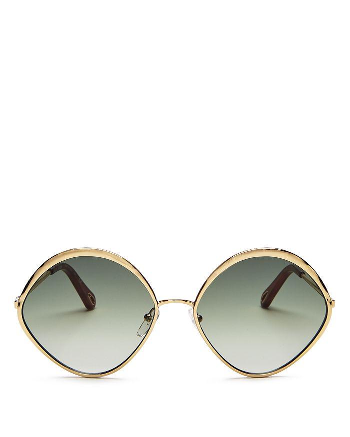 Chloé - Women's Dani Diamond Sunglasses, 60mm