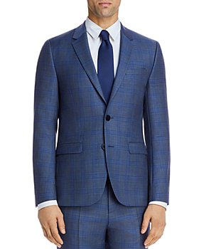 HUGO - Astian Sharkskin Plaid Extra Slim Fit Suit Jacket