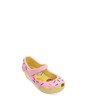 Mini Melissa Girls\\\' Ultra29 Donut Mary Jane Sandals - Walker, Toddler