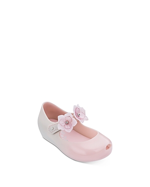Mini Melissa Girls' Ultra27 Mary Jane Flats - Walker, Toddler