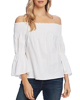 VINCE CAMUTO - Off-the-Shoulder Bell-Sleeve Top