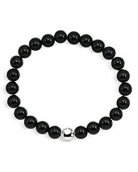 AQUA - Sterling Silver & Stone Stretch Bracelet - 100% Exclusive