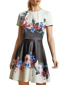 Ted Baker - Hooto Jamboree Print Skater Dress