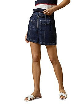 Ted Baker - Shortan Belted Denim Shorts