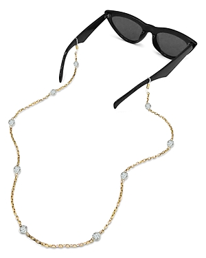 Tuleste Delicate Crystal Ball Eyewear Chain