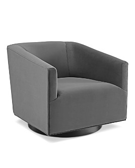Modway - Twist Accent Lounge Performance Velvet Swivel Chair