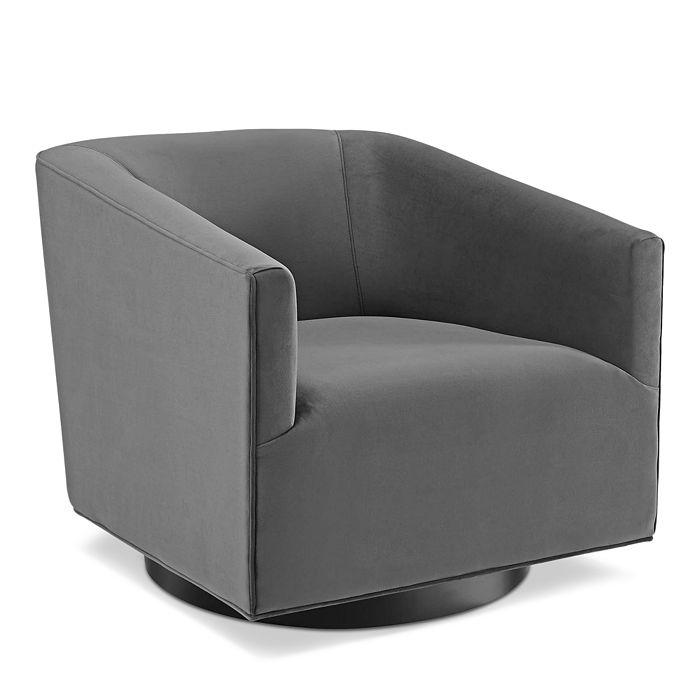 Modway - Twist Accent Lounge Performance Velvet Swivel Chair