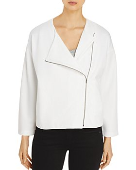 Eileen Fisher Petites - Round Neck Jacket