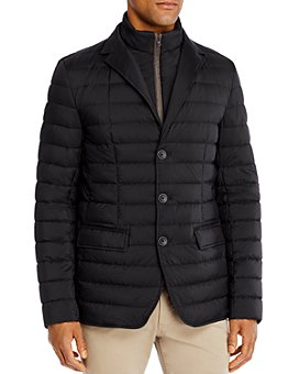 Herno - Quilted Down Jacket with Zip Out Bib