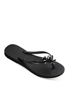 havaianas - Women's Slim Crystal Mineral Flip Flop Sandals