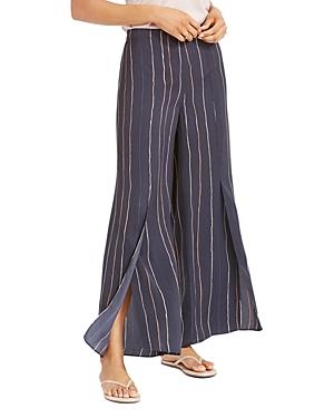 Nic + Zoe Waterfall Printed Wide-Leg Pants