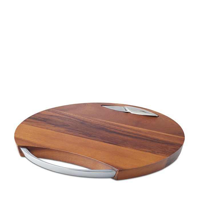 Nambé - Luna Cheeseboard with Knife - 100% Exclusive