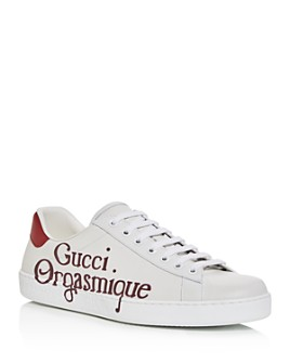 Gucci - Men's Ace Orgasmique Low-Top Sneakers