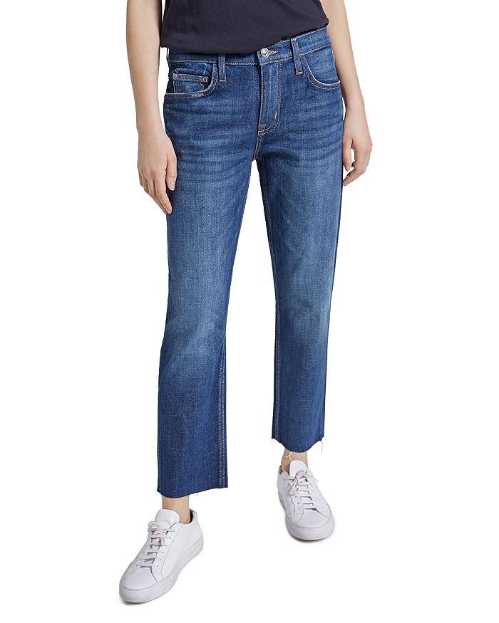 Current/Elliott - The Original Fling Raw-Hem Jeans in True Lover Cut