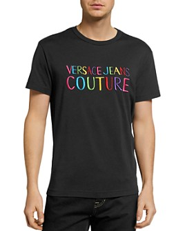 Versace Jeans Couture - Cotton Rainbow Logo Tee
