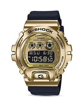 G-Shock - Gold-Tone Digital Watch, 49.7mm x 53.9mm