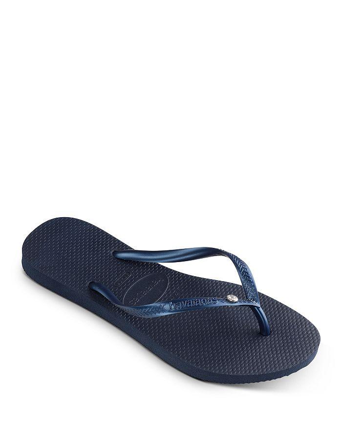 havaianas - Women's Crystal Glamour Slim Flip-Flops