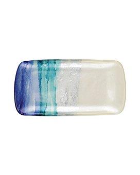 VIETRI - Sea Glass Ombré Rectangular Tray