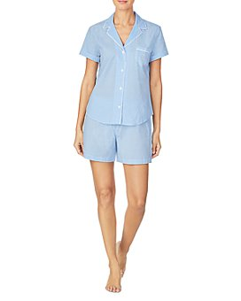 Ralph Lauren - Grosgrain-Ribbon-Trim Boxer Shorts Pajamas Set