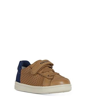 Geox Kids' Boys' Djrock Sneakers - Walker In Beige/blue