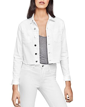 L'AGENCE - Janelle Cropped Denim Jacket