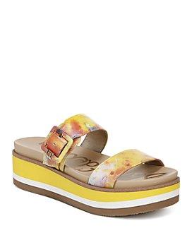 Sam Edelman - Women's Agustine Slip On Wedge Sandals