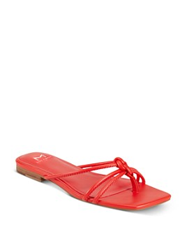 Marc Fisher LTD. - Women's Monty Square-Toe Thong Sandals