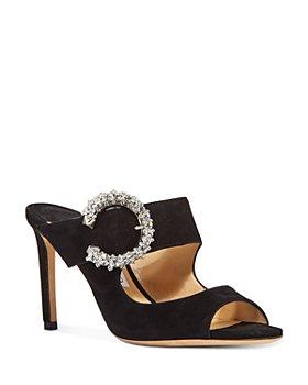 Jimmy Choo - Women's Embellished Slip On 85 High Heel Sandals