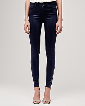 L\\\'Agence Marguerite Coated Skinny Jeans-Women