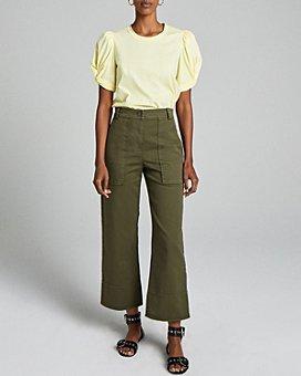 A.L.C. - Farrell Wide-Leg Cropped Pants