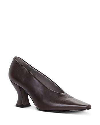 Bottega Veneta - Women's Pointed Square Toe Pumps