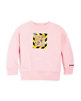 Burberry - Girls' Carrie Deer Print Sweatshirt - Little Kid, Big Kid