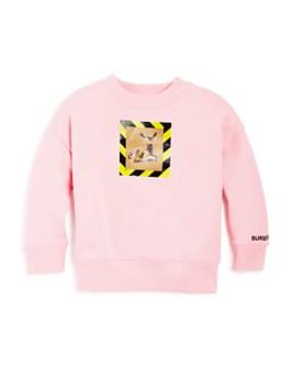 Burberry - Girls' Carrie Deer Print Sweatshirt - Little Kid, Big Kid