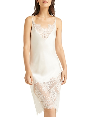 Silk Lace Chemise Nightgown