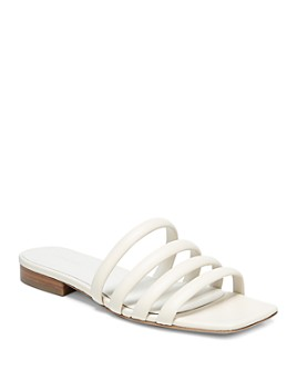 Vince - Women's Zahara Square Toe Slide Sandals