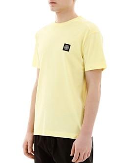 Stone Island - Cotton Garment Dyed Logo Patch Tee