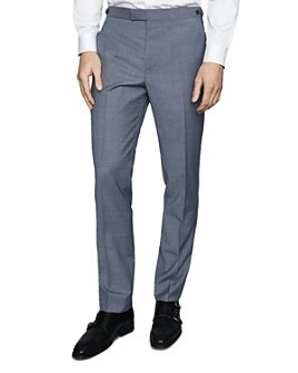 REISS - Climate Slim-Fit Textured Dress Pants