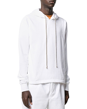 Drkshdw Rick Owens Level Cotton Boxy Fit Hoodie
