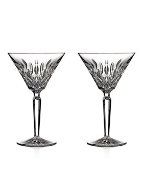 Waterford - Lismore Martini Glass, Set of 2