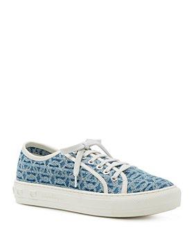 Salvatore Ferragamo - Women's Embroidered Sneakers