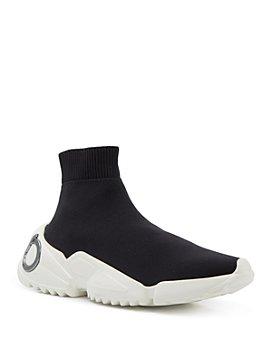 Salvatore Ferragamo - Women's Sock High Top Sneakers